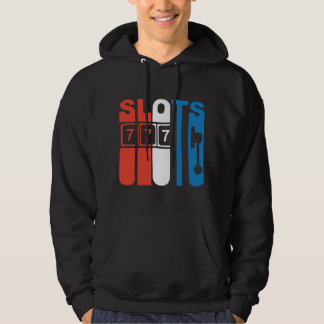Red White And Blue Slots Slot Machine Hoodie