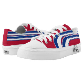 Red White and Blue Sojourn Max Low-Top Sneakers