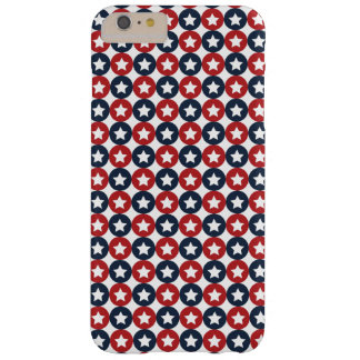 Red White And Blue Stars Barely There iPhone 6 Plus Case