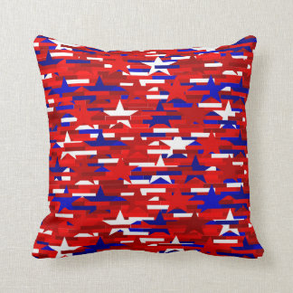 Red, White, and Blue Stars PIllow