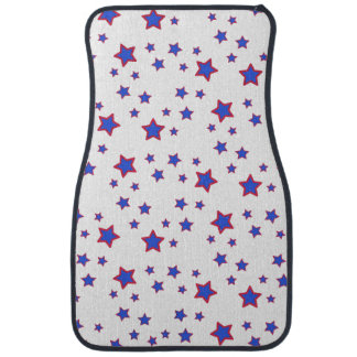 Red, White, and Blue Stars Floor Mat