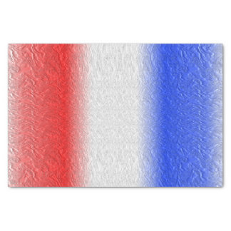 Red White and Blue Stripe Tissue Paper