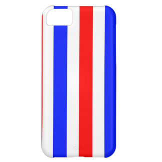 Red, white and blue stripes iPhone 5C cases