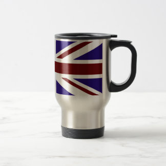 Red White and Blue Union Flag Travel Mug