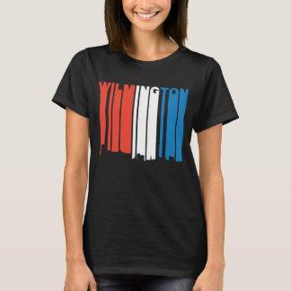 Red White And Blue Wilmington North Carolina Skyli T-Shirt