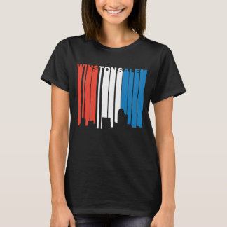 Red White And Blue Winston-Salem North Carolina Sk T-Shirt
