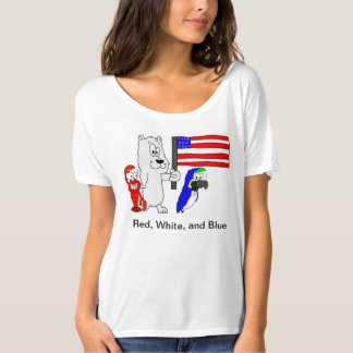 Red, White, and Blue (Women's) T-Shirt