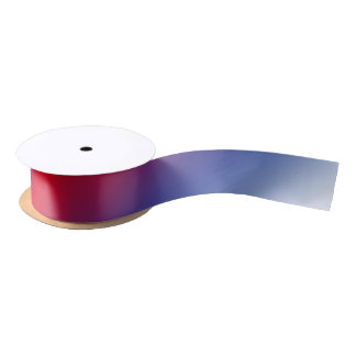 Red, White and Blue Satin Ribbon