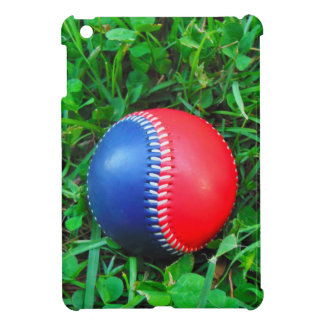 Red White & Blue Baseball iPad Mini Cases