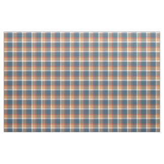 Red White Blue Brown Retro Tartan Plaid Pattern Fabric