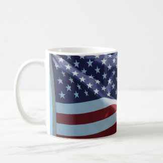 Red White & Blue Coffee Mug