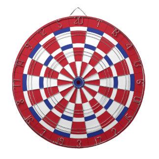 Red White & Blue Dartboard