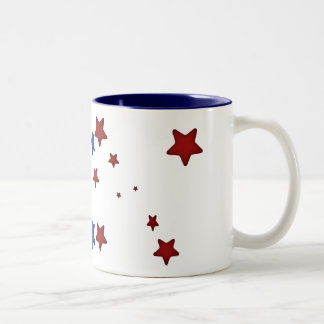 Red, white,  & blue Mug