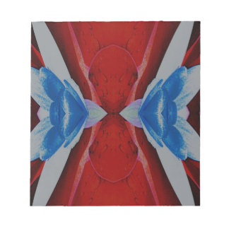 Red White Blue Patriotic Artistic Design Notepads