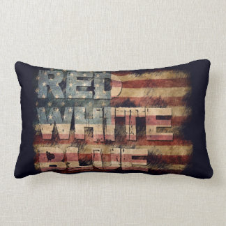 Red White Blue pillow