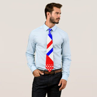 Red White Blue Tie