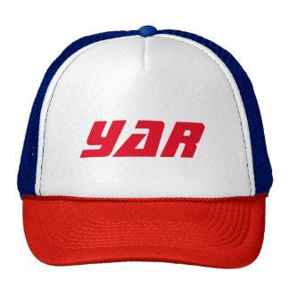 Red White blue YaR cap Trucker Hat