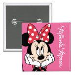 Red & White Minnie 1 Pin