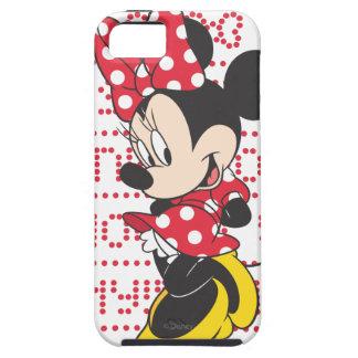 Red White Minnie 3 iPhone 5 Case