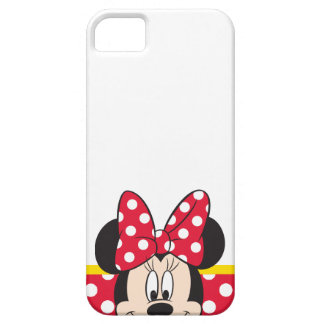 Red & White Minnie   Polka Dots Case For The iPhone 5