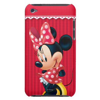 Red & White Minnie | Shy Barely There iPod Case