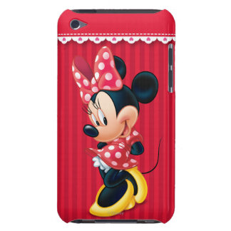 Red & White Minnie | Shy iPod Touch Cases