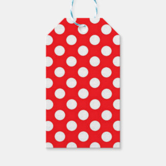 Red White Polka Dots | Tags