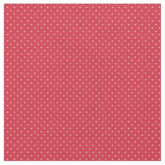 Red & White Polka Dotted Fabric