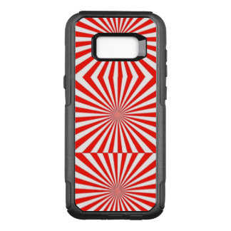 Red & White Stripe Cell Phone Case