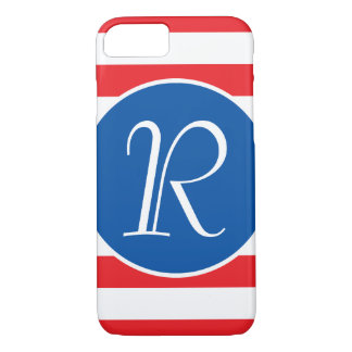 Red & White Strips iPhone 8/7 Case