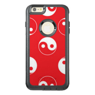 Red & White Yin Yang Pattern Design OtterBox iPhone 6/6s Plus Case