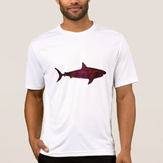 red wild shark T-Shirt