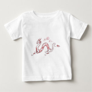 Red Willow Dragon with White BG Baby T-Shirt