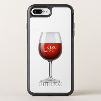 Red Wine Apple iPhone 7 Plus Otterbox Case