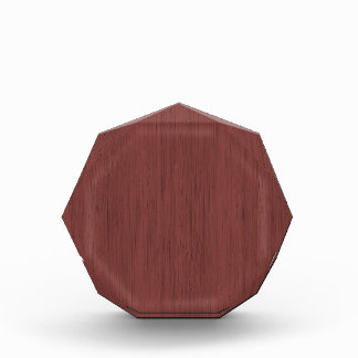 Red Wine Bamboo Wood Grain Look
