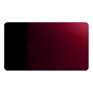 Red Wine Black Unusual Visual Identifiers Biz Card Pack Of Standard Business Cards