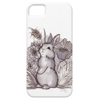 Red Wine Bunny for iPhone 5 iPhone 5 Cases