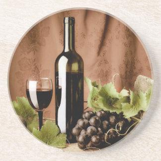 Red wine coaster