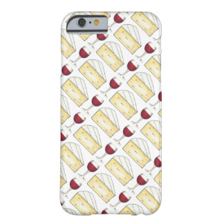 Red Wine Glass + Brie Cheese Phone Case