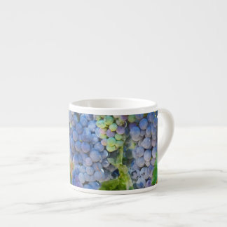 Red Wine Grapes in the Vineyard Espresso Cup