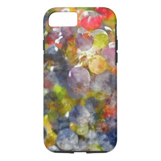 Red Wine Grapes on the Vine iPhone 8/7 Case