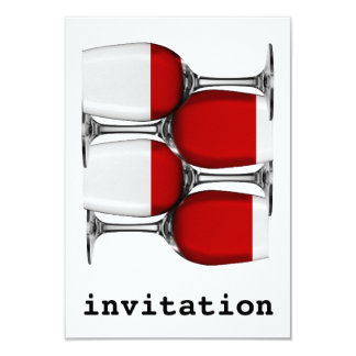 Red Wine Invitation