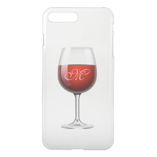 Red Wine iPhone7 Plus Clear Case