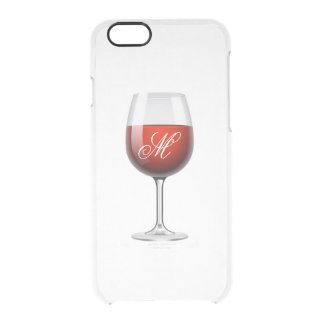 Red Wine iPhone 6/6S Clear Case