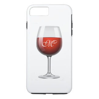 Red Wine iPhone 7 Plus Tough Case
