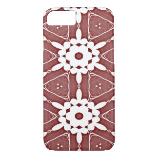 Red Wine Kaleidoscope Pattern Phone Case