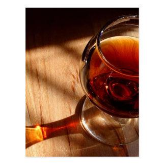 Red Wine Postcard