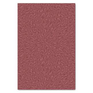 Red Wine Satin Tissue Paper