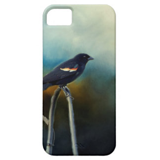 RED Wing Blackbird iPhone 5 Cases