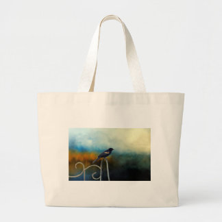 RED Wing Blackbird Large Tote Bag